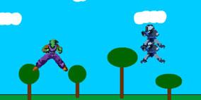 Piccolo vs Saibamen