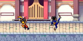 Dragon Ball Z vs Naruto CR Vegeta