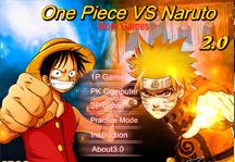 One Piece vs Naruto 2.0 Title Screen