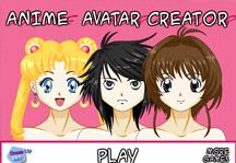 Anime Avatar Creator Title Screen