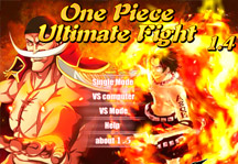 One Piece Ultimate Fight 1.4 Title Screen
