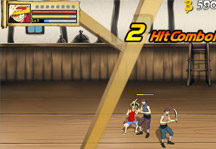 One Piece Gallant Fighter Gameplay