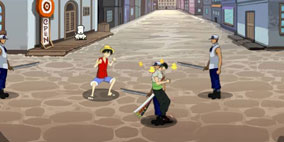 One Piece Flash Game