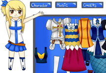 Fairy Tail Dress Up Gameplay