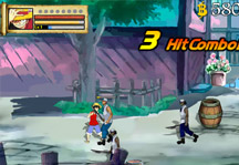 One Piece Gallant Fighter 2 Gameplay