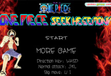 One Piece Seek Hegemony Title Screen