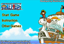 One Piece Adventure Title Screen