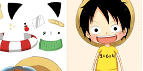 Luffy Dress Up Game