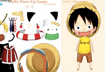 Luffy Dress Up Game Gameplay