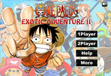 One Piece Exotic Adventure 2 Title Screen