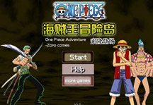 One Piece Adventure Island Zoro Title Screen