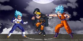 Naruto vs Dragon Ball Super Mugen