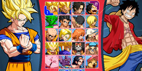 Dragon Ball Z vs One Piece Mugen