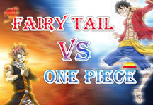 Fairy Tail vs One Piece 2.0 Title Screen