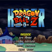 Hyper Dragon Ball Z - Menu screen