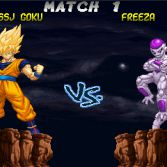 Hyper Dragon Ball Z - VS screen