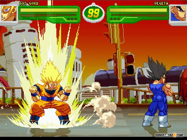 Hyper dragon ball z download dbzgames hyper dragon ball z ssj goku vs vegeta voltagebd Gallery