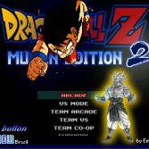 Dragon Ball Z MUGEN Edition 2 - Title screen