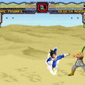 Dragon Ball Z MUGEN Edition 2 - Trunks vs Vegeta