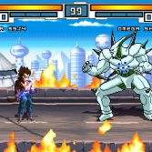 Dragon Ball GT MUGEN - Vegeta vs Omega Shenron
