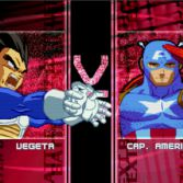 World Warriors X - VS screen