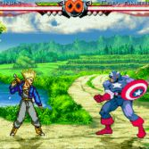 World Warriors X - Trunks vs Captain America