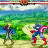 World Warriors X - Trunks vs Captain America