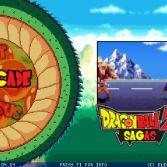 Dragon Ball Z Sagas MUGEN - Title screen