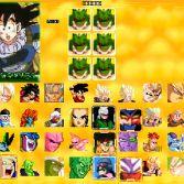 Dragon Ball Z Sagas MUGEN - Character select