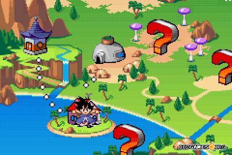 Dragon ball advanced adventure screenshots images and pictures dragon ball advanced adventure world map gumiabroncs Images