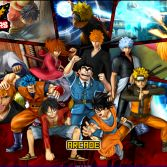 Jump Ultimate Stars MUGEN - Title screen