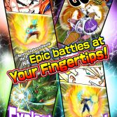 Dragon Ball Z Dokkan Battle - Advertising graphics 1