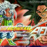 Dragon Ball AF MUGEN - Title screen