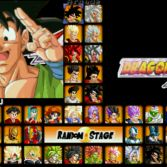 Dragon Ball AF MUGEN - Character select