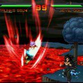 Dragon Ball AF MUGEN - Trunks SSJ4 vs Evil Goku