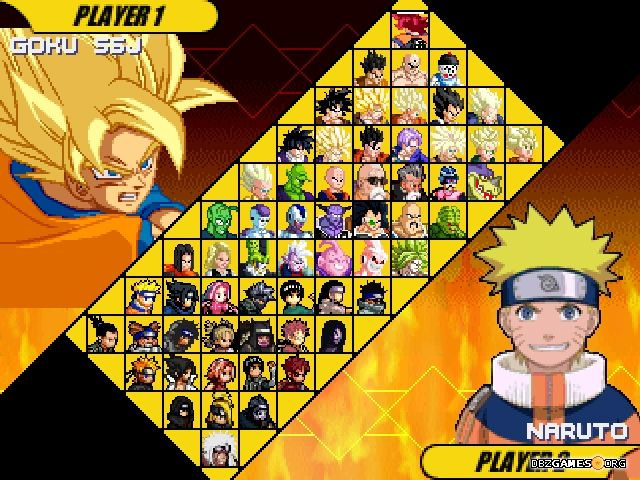 Dragon ball z vs naruto mugen download - Naruto and dragonball z ...