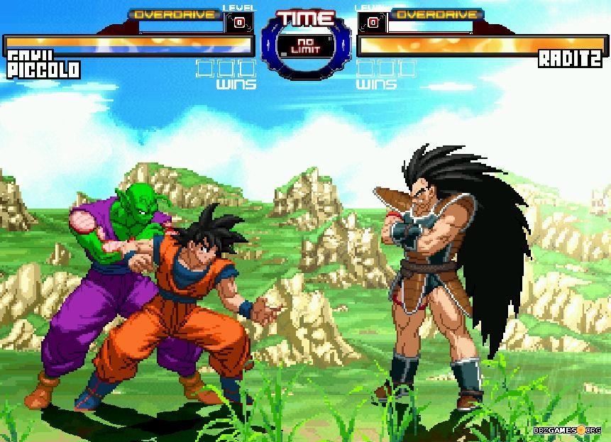 Dragon ball z retro battle x3 download dbzgames dragon ball z retro battle x3 goku and piccolo vs raditz voltagebd Image collections