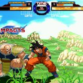 Dragon Ball Z Retro Battle X3  - Goku vs Nappa