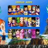 Dragon Ball Super Mugen - Character select