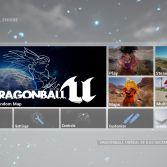 Dragon Ball Unreal - Menu
