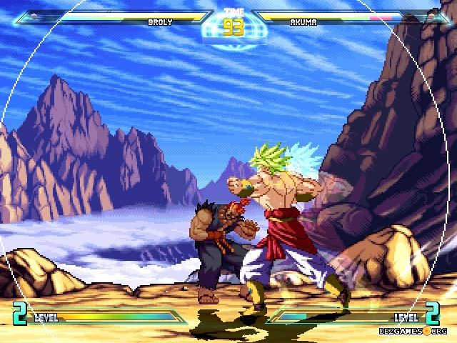 dbz vs street fighter - photo #10