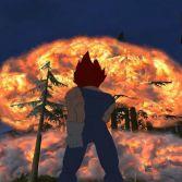 San Andreas Dragon Ball Transformation - In game screenshot