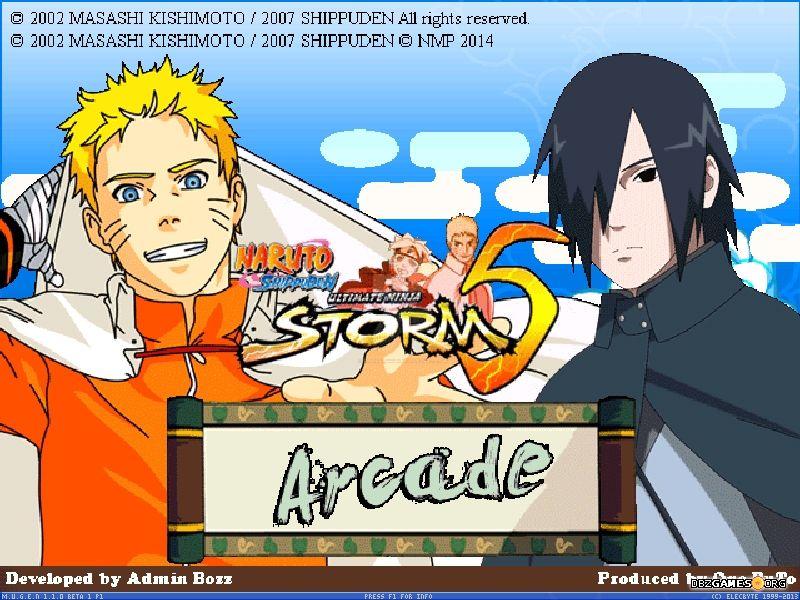Naruto Mugen Storm 5  Download  DBZGames.org