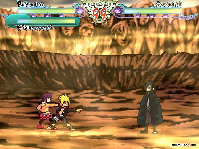 скачать игру Mugen Naruto - фото 5