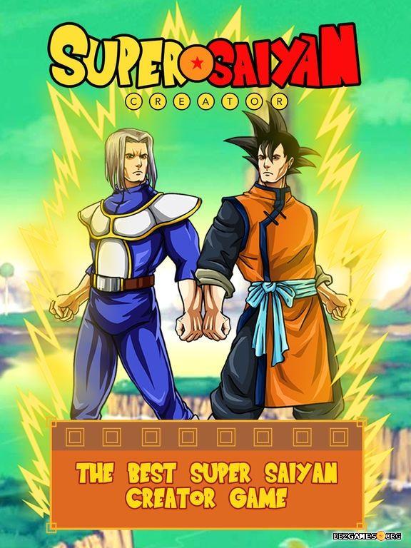 super saiyan creator apps dbzgames org