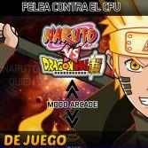 Naruto vs Dragon Ball Super Mugen - Screenshot