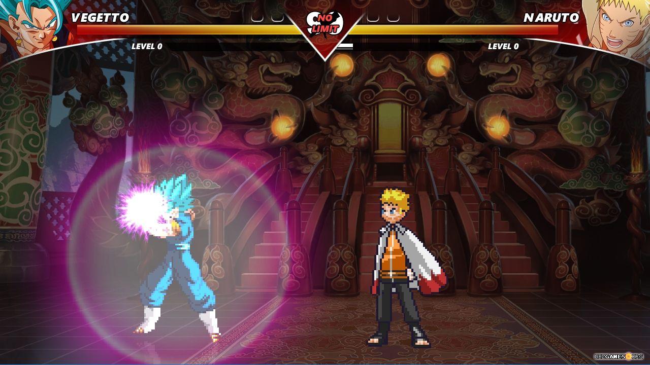 Naruto vs Dragon Ball Super Mugen - Download - DBZGames.org