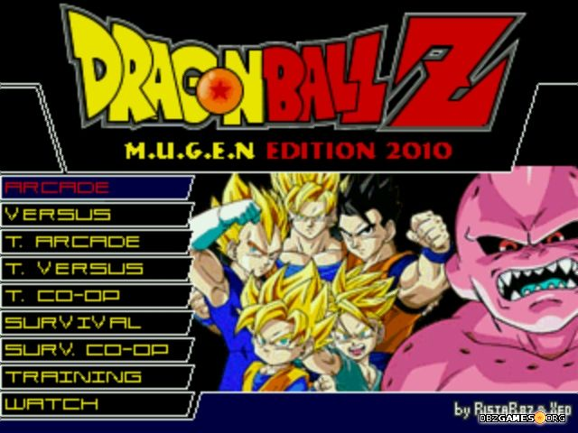 dragon ball z sparking mugen 2010