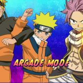 Fairy Tail x Naruto Shaman vs Ninja Battle Mugen - Screenshot