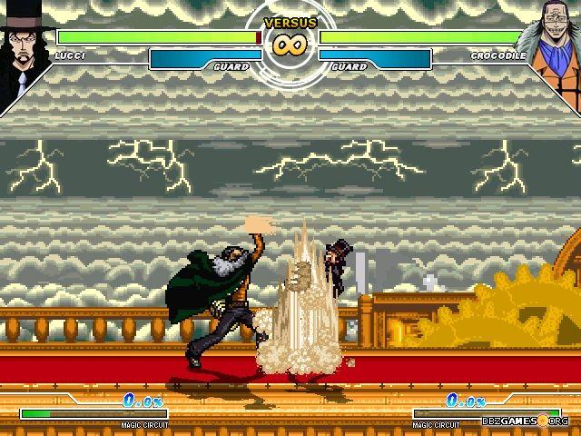 jeux one piece colosseum mugen 2011